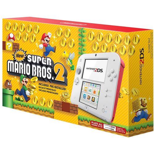 Console Nintendo 2DS New Super Mario Bros 2 Bundle - Nintendo