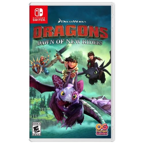 Game DreamWorks Dragons Dawn of New Riders - Switch