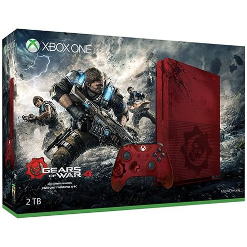 Console Xbox One S 2TB Gears of War 4 Limited Edition - Microsoft