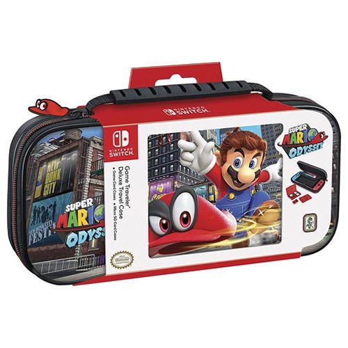 Nintendo Switch Deluxe Travel Case Super Mario Odyssey  - Switch