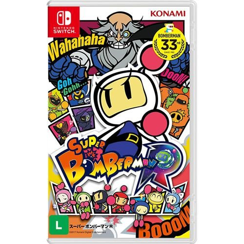 Game Super Bomberman R - Switch
