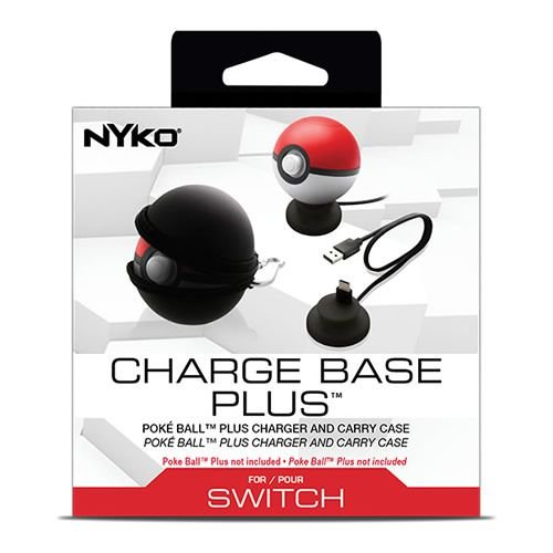 Charge Base Plus Pokéball - Nyko