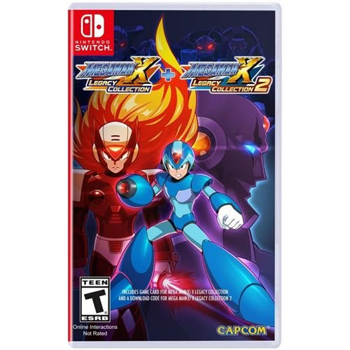 Game Mega Man X1 e X2 Collection - Switch