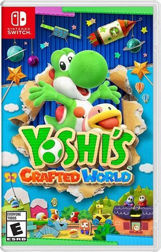 Game Yoshi's Crafted World - Switch