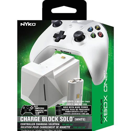 Charge Block Solo White Xbox One - Nyko