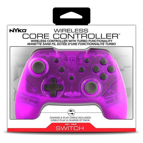 Controle Sem Fio Rosa Nintendo Switch - Nyko