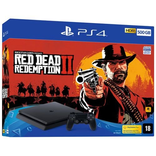 PS4 500GB + Red Dead Redemption II CUH2215A - Sony