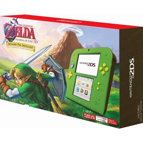 Console Nintendo 2DS The Legend of Zelda Ocarina of Time 3D Bundle - Nintendo