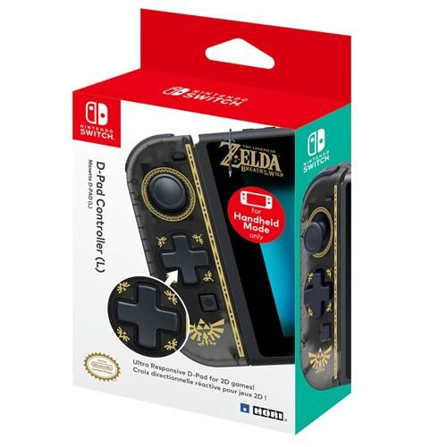 Controle D-Pad (L) Hori The Legend of Zelda Breath of The Wild - Switch