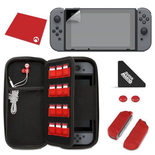 """Starter Kit Mario """"M"""" PDP - Switch"""