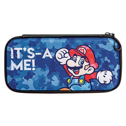 Switch Slim Travel Case Mario Camo Edition PDP - Switch