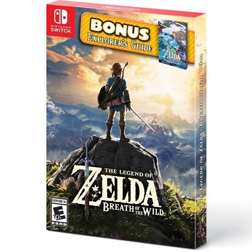 Game The Legend of Zelda Breath of The Wild Bônus Edition - Switch