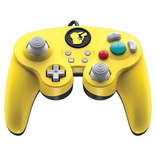 Controle Com Fio Fight Pad Pro Pikachu PDP - Switch