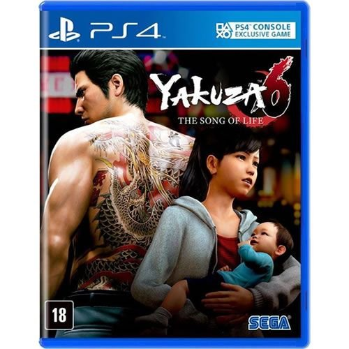 Game Yakuza 6 The Song of Life Essence of Art Edition - PS4