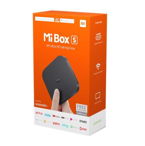 Mi Box S 4K Ultra HD Set-top Box - Xiaomi