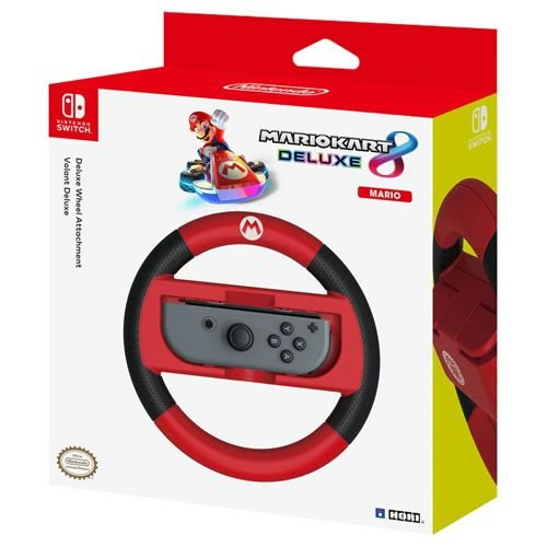 Mario Kart 8 Deluxe Racing Wheel Mario - Switch