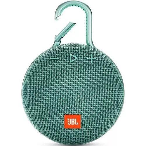 Caixa de Som JBL Clip 3, Bluetooth, À Prova D´Água, 1x3W Verde - JBL
