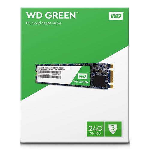 SSD M.2 2280 240GB WD Green - Western Digital
