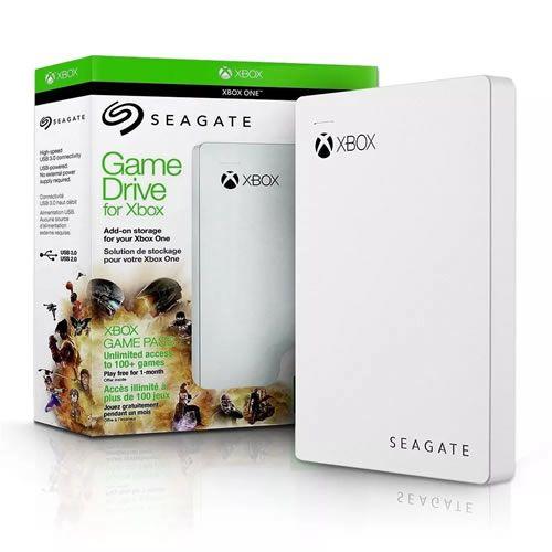 HD Seagate Externo Portátil Game Drive para Xbox USB 3.0 2TB - Branco
