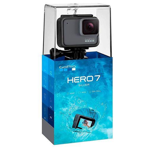GoPro Hero 7 Silver 10MP 4K 30fps - GoPro