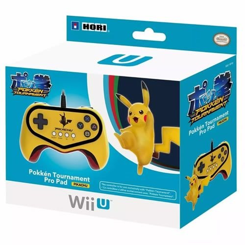 Controle Fight Pad Pikachu - Hori