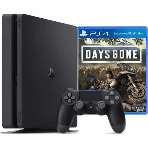 Console PS4 1TB Slim + Game Days Gone CUH2215B - Sony