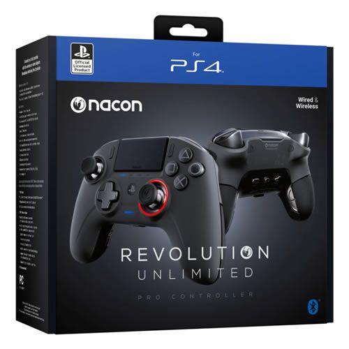 Controle Sem Fio Nacon Revolution Unlimited - PS4