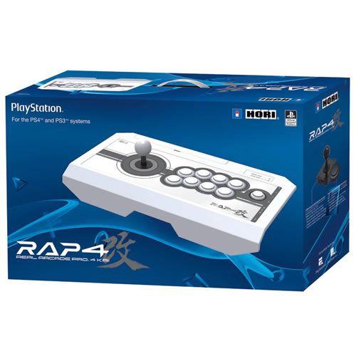 Controle Real Arcade Pro 4 Kai Branco PS4 - Hori