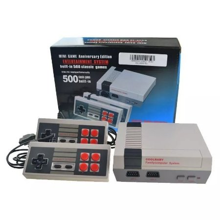 Console Mini Game Anniversary Edition 500 Jogos - Classic Games Collection