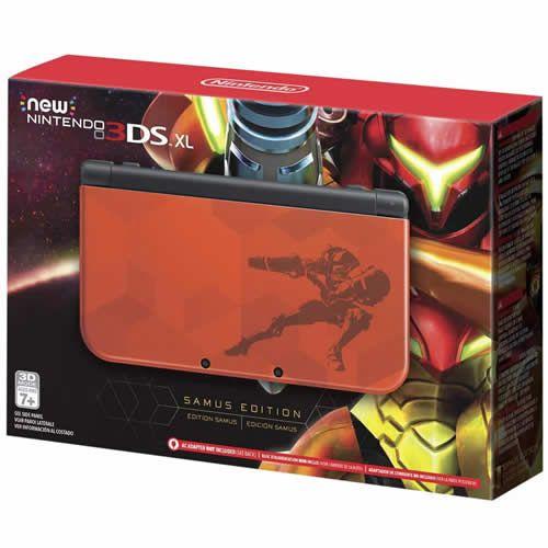 Console New Nintendo 3DS XL Samus Edition - Nintendo