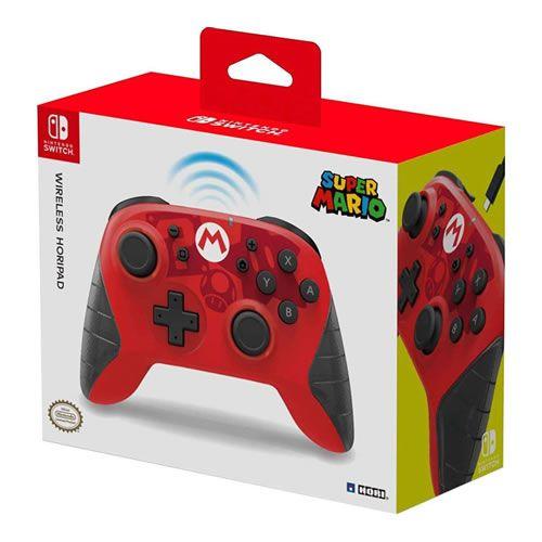 Controle Sem Fio Nintendo Switch Super Mario - Hori