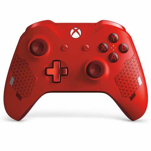 Controle Sem Fio Xbox One Sport Vermelho - Microsoft