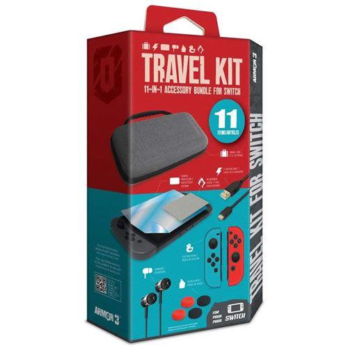 Travel Kit 11-in-1 Para Nintendo Switch - Armor 3