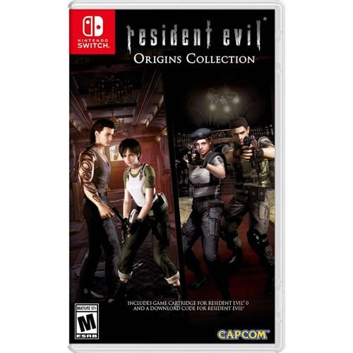 Game Resident Evil Origins Collection - Switch