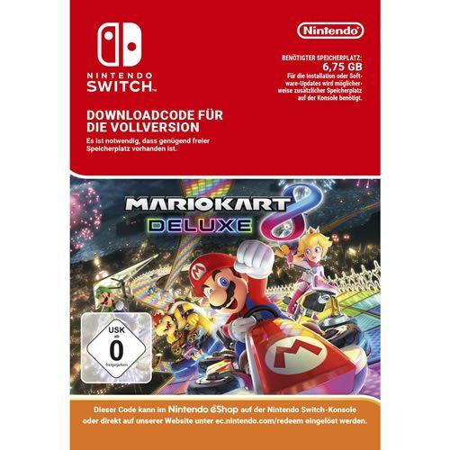 Game Mario Kart 8 Deluxe - Switch [Download Voucher]