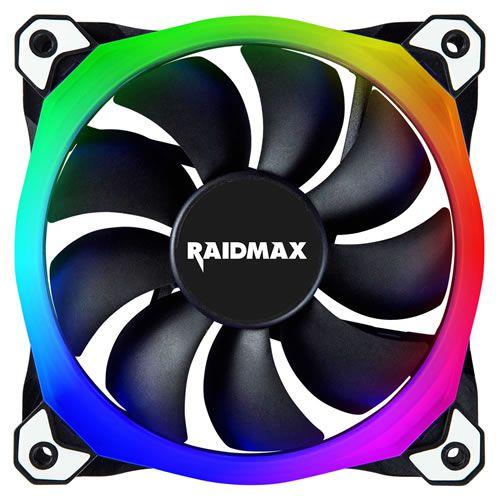 Cooler Fan Raidmax NV-R120B RGB 120mm - Raidmax [usado]