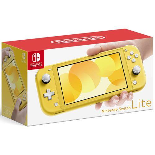 Console Nintendo Switch Lite 32GB Yellow - Nintendo