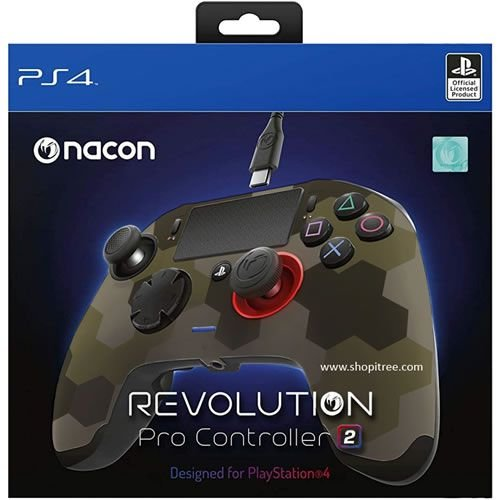 Controle Com Fio Nacon Revolution Pro 2 Camuflado - Nacon