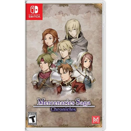 Game Mercenaries Saga Chronicles - Switch