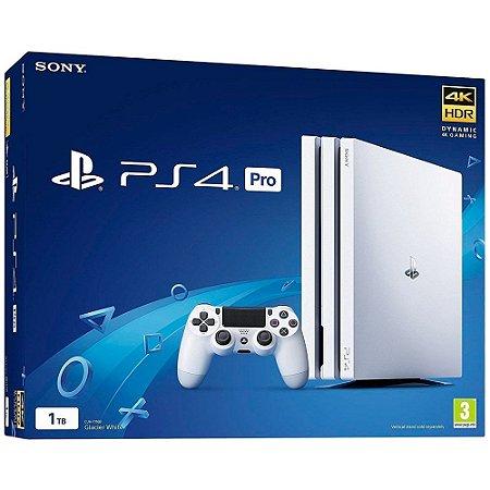 Console PS4 Pro 1TB Branco CUH7216B - Sony