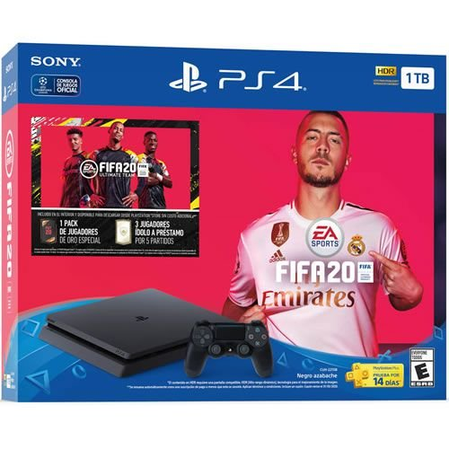 Console PS4 1TB Slim FIFA 20 bundle CUH2215B - Sony
