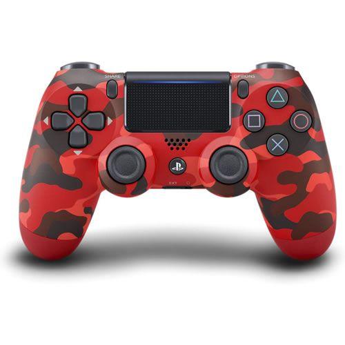 Controle Dualshock 4 Sem Fio Red Camo - Sony