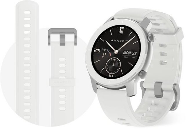 Smartwatch Amazfit GTR 42mm - White