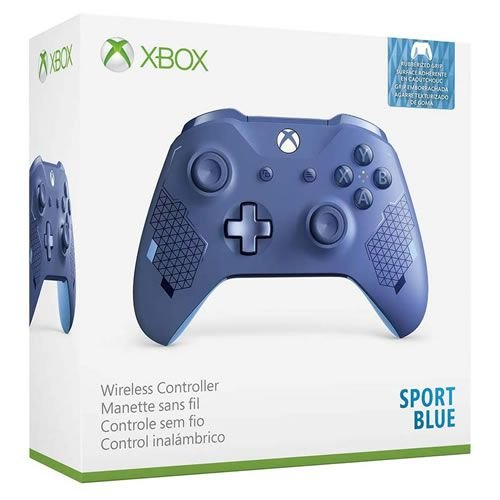 Controle Sem Fio Xbox One Sport Azul - Microsoft
