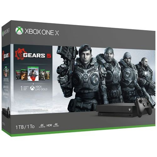 Xbox One X 1TB Gears of War 5 Bundle - Microsoft