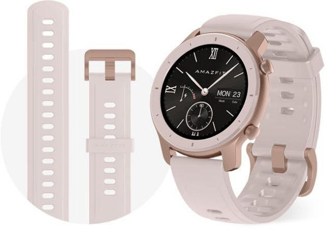 Smartwatch Amazfit GTR 42mm - Cherry Blossom Pink