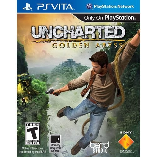 Game Uncharted Golden Abyss - Psvita [usado]