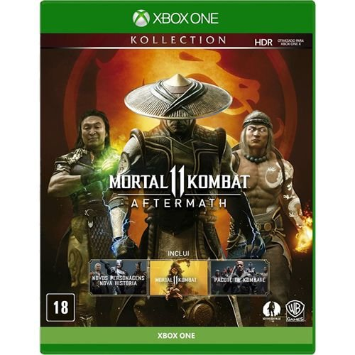 Game - Mortal Kombat 11 Aftermath - Xbox One
