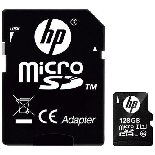 Cartão de Memória Micro SD Ultra Classe 10 128GB - HP