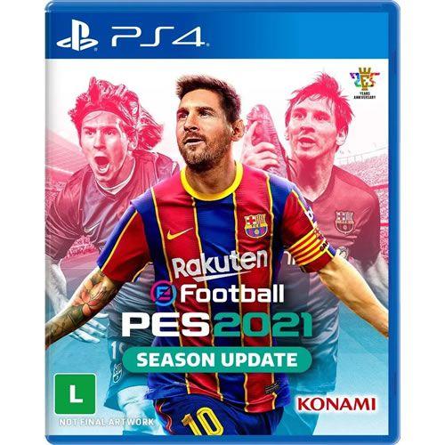 Game PES 2021 Season Update - PS4 [Pré-venda]
